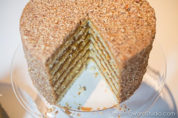 Sift! Caramel Pecan Cake